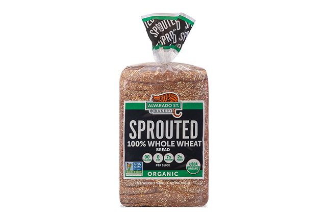 Sprouted Whole Wheat Bread - USDA Organic