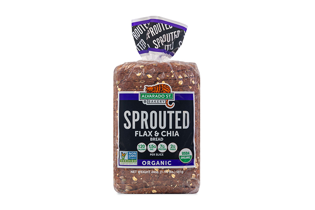 Sprouted Flax & Chia Bread