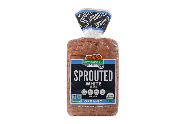 Sprouted Wheat White Bread - USDA Organic
