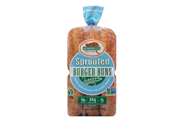 Sprouted Burger Buns