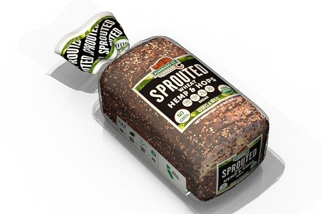 Sprouted Wheat Hemp & Hops Bread