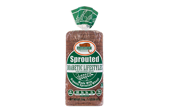 Sprouted Wheat Low Glycemic Bread