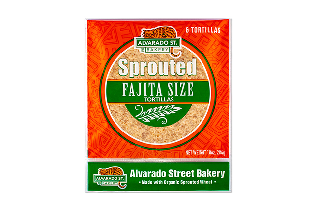 Sprouted Wheat Tortillas – Fajita Size