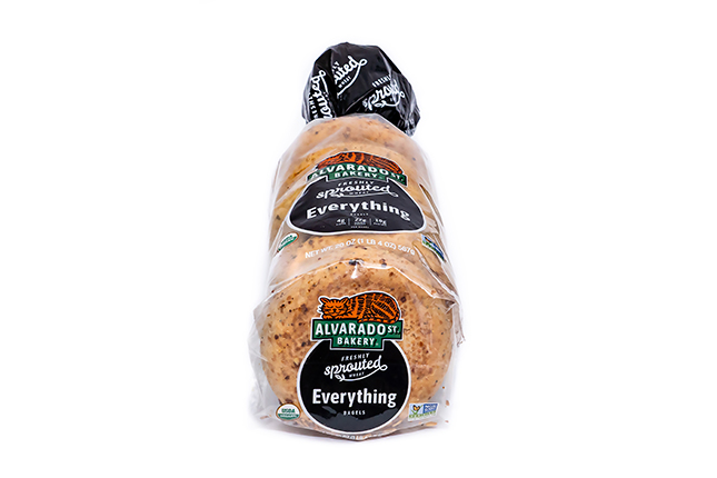 Sprouted Wheat Everything Bagels