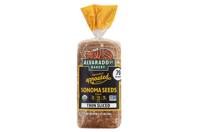 Thin-Sliced Sprouted Wheat Sonoma Seeds Bread
