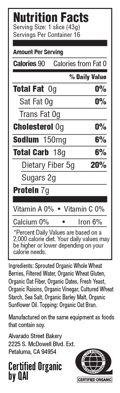 Nature S Own  Whole Wheat Nutrition Facts