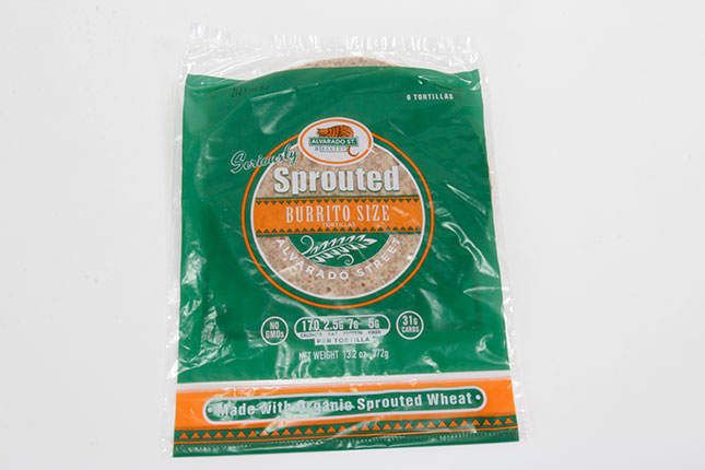 Sprouted Wheat Tortillas - Burrito Size