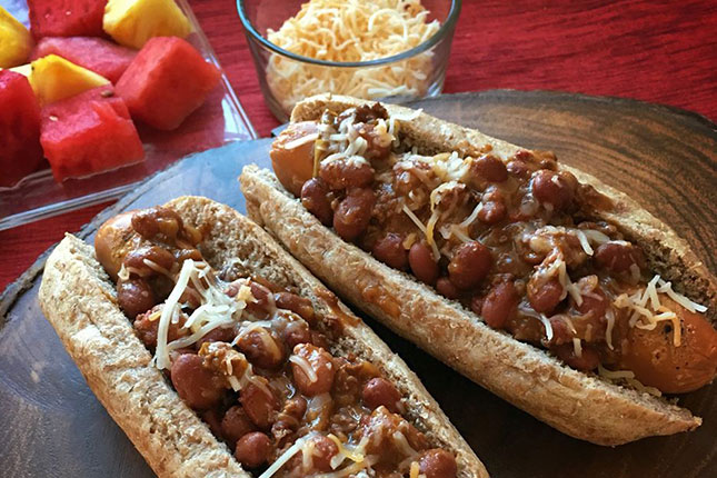 Sprouted California Style Hot Dog Buns