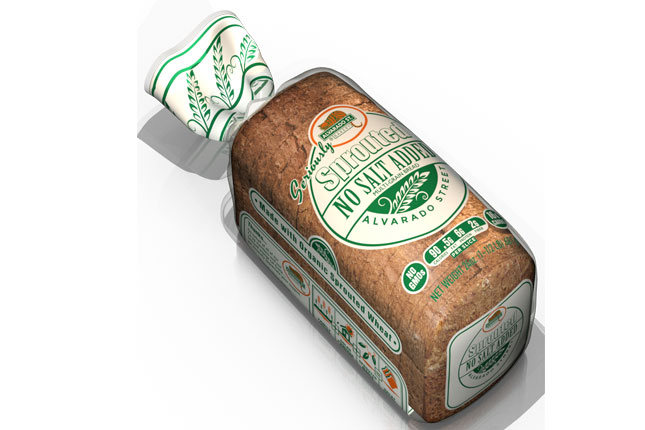 Sprouted No Salt Added Multi-Grain Bread