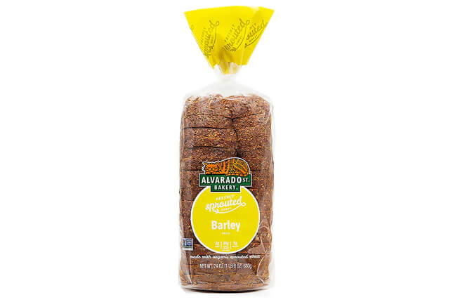 Sprouted Wheat Barley Bread