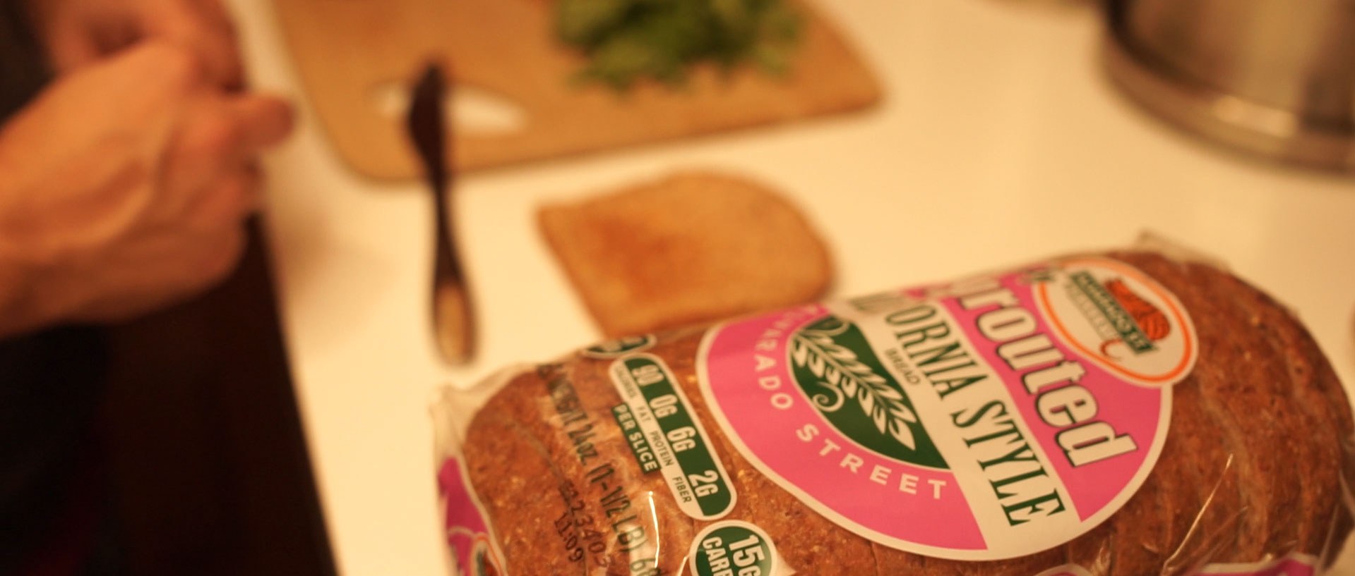 organic healthy breads