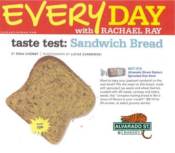 rachel ray product testing