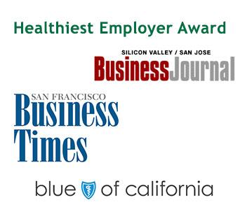 california healthiest employer award